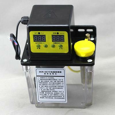 1.8L Dual Digital Display Automatic Electric Lubrication Pump Oiler NC Pump