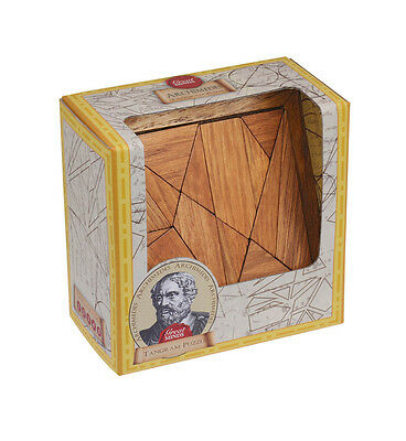 Professor Puzzle Great Minds Archimedes' Tangram Wooden Puzzle