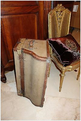Antique French Moynat Automobile Car Motor Trunk Suitcase • £1,012.89