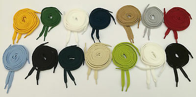 100cm Colored shoe laces New Kids Shoelaces Bootlaces 14 colors 10mm width