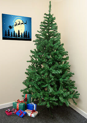Traditional 7FT Green Christmas/Xmas Tree 210CM Artificial Indoor Decorations