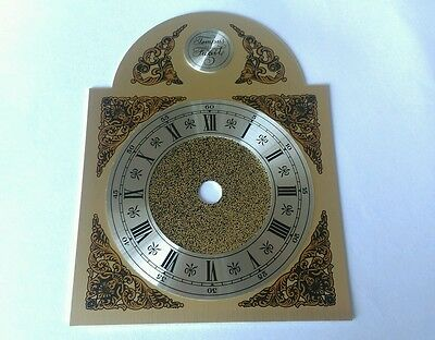 Break Arch clock  Dial Brass & Aluminum Dial Size 108 x 102mm