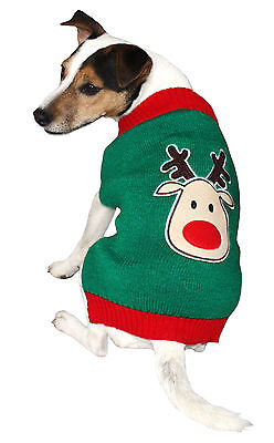 Armitage Good Boy Reindeer Christmas Jumper Sweater for Dogs &  Puppies