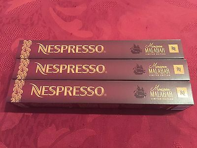30x Monsoon Malabar - Rare Limited Edition Variations Nespresso Capsules