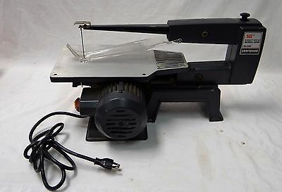 """Gently Used Craftsman 16"""" Direct Drive Table Top Bench Style Scroll Saw"""