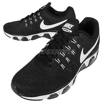 Nike Air Max Tailwind 8 VIII Black White Mens Running Shoes Sneakers 805941-001