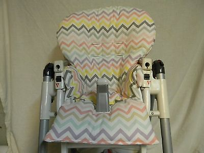 Handmade  Prima Pappa Highchair Diner And More Cover Chevron  (see Description)