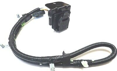 TRAILER LIGHT WIRE Harness 7 Pin Ford Explorer Mercury ... on