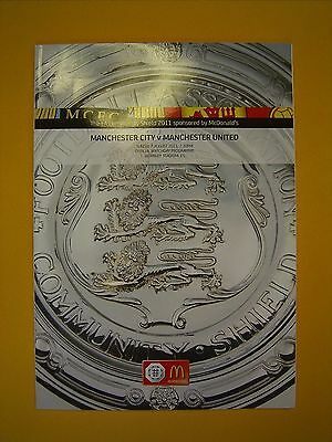 FA Community Shield - Manchester City v Manchester United - 7th August 2011