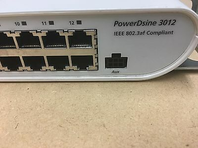 PowerDsine 12 Ports Power over Ethernet PD-3012 IEEE 802.3af #9163 Compliant