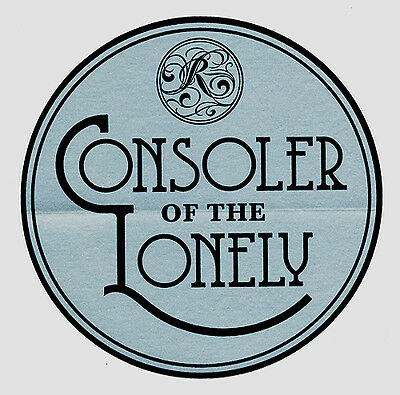 The Raconteurs Consolers of the Lonely RARE promo sticker '08
