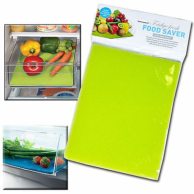 New Kitchen Fridge Drawer Food Fresh Saver Liner Mat Fruit Salad Veggie Washable