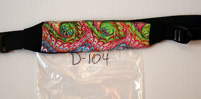 Peritoneal Dialysis Belt D-104 marble paper pattern