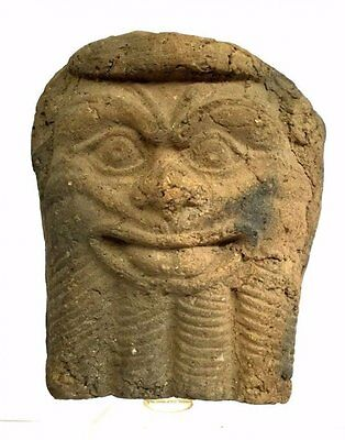 Large Ancient Near east pottery Pazuzu.