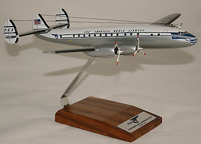 Pan American L049 Lockheed Constellation 1:100 Large Handcrafted Desk Top Model