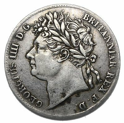 1825 Maundy Fourpence  - George Iv British Silver Coin - V Nice