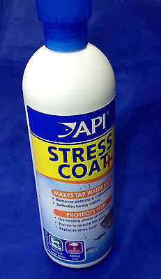 API stress coat aquarium water conditioner 237ml fish tank