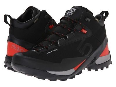 S5187-999 - Five Ten Camp Four Mid Gtx Black Red Us 9 Eu 42