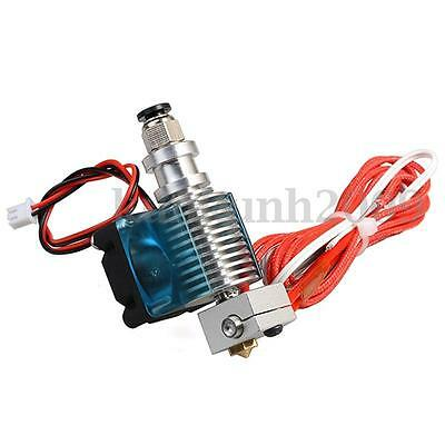Hotend Buse 0.3/0.4/0.5mm Ventilateur pr J-head 1.75/3mm 3D imprimante Extruder