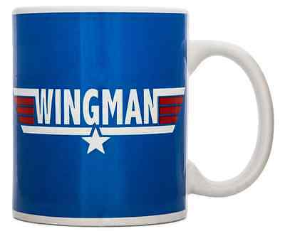 Wingman Ceramic Mug Coffee Cup Novelty Stag Do Best Man Gift