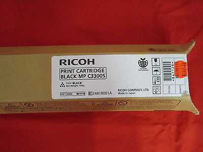 Ricoh MP C3300S Black Toner Cartridge 841128