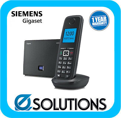 Siemens Gigaset A510IP Cordless Dect IP Phone Base Station and Single A510H Hand