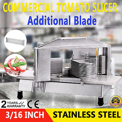 4.8Mm Tomato Slicer Cutter Chopper Cutting Restaurant Hot Ce Approved Newest