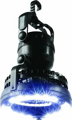 Portable Camp Lantern 2 In 1 Led Light & Camping Fan Hang Tent
