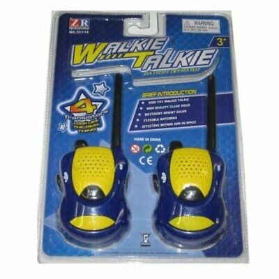 Walkie talkie Twin Pack Toy for Kids Battery Operated New Great Gift