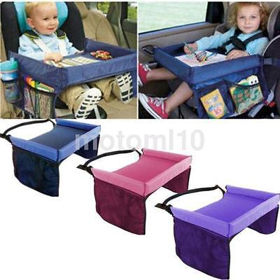 Waterproof Convenient Kids Playing Eating Travel Board / Car Safety Seat US