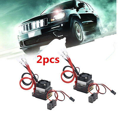 2XGood 320A 7.2V-16V Brushed ESC Speed Controller for RC Car Truck Boat New~WS