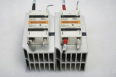 Fuji Electric Solid State Contactor Ss501-3Z-D3 Lot Of 2
