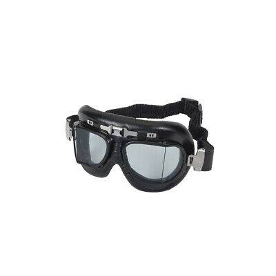 Motorcycle Goggles Red Baron Touring  - Smoked Lens - suit Bobber, Cafe Racer, S