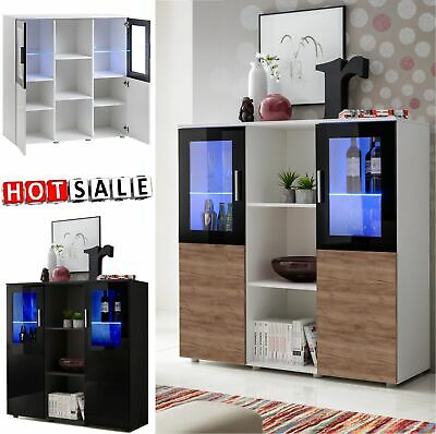 Sideboard Cabinet High Gloss Fronts Cupboard Storage Display Unit  DREAM