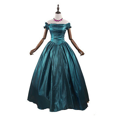 Renaissance Victorian Old West Princess Dress Ball Gown Theatre Prom Costume New