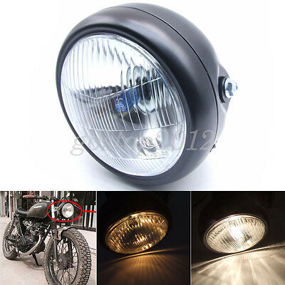 Motorcycle Headlight High/Low beam Head Lamps Light For GN125 Cafe Racer Bobber