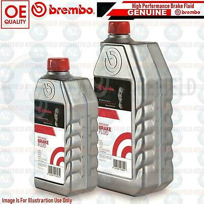High Performance Brembo Fully Synthetic Brake And Clutch Fluid Dot 5.1 1L 1Litre