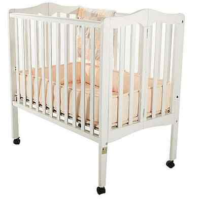 Crib Folding Portable Dream On Me 2-in-1 Lightweight Nursery Infant