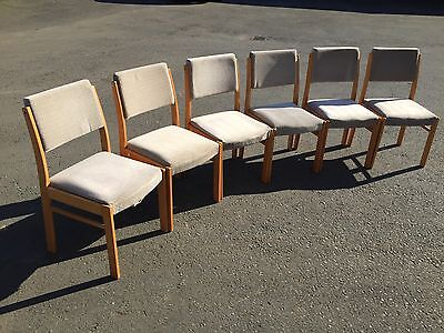 6 Retro Dining Chairs (6985)