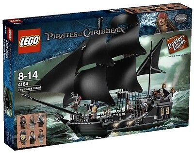 Lego Pirates Of The Caribbean 4184 Black Pearl NuovoNew