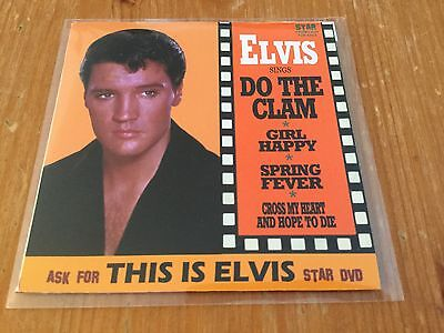 Elvis Presley minidisc - Do the Clam/Puppet on a string - sealed!