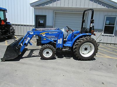 New Holland Workmaster 35 Compact Tractor Shuttle Transmission 110TL Loader