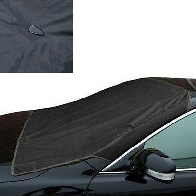 Car Front Sun Frost Protect Shield Cover Snow Ice Magnet Windshield Protector