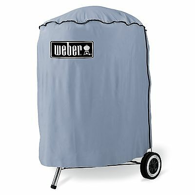Weber 57cm Standard Vinyl Cover Protect BBQ Heavy Duty Keep Your Barbecue