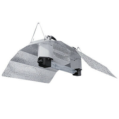 Hydroponic 600w watt DE HPS REFLECTOR SHADE Double End Ended Lamp Indoor Grow UK