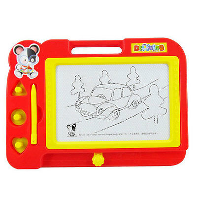 Magnetic Drawing Board Sketch Doodle Painting Craft For Kids Children