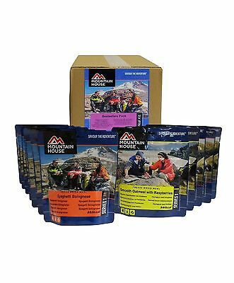 Freeze Dried Camping Food Meals Emergency Ration Survival Pack Mountain House
