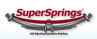 SuperSprings Ford Falcon Ute AU/BA/BF/FG Extra Heavy Duty Load Assist Spring Kit