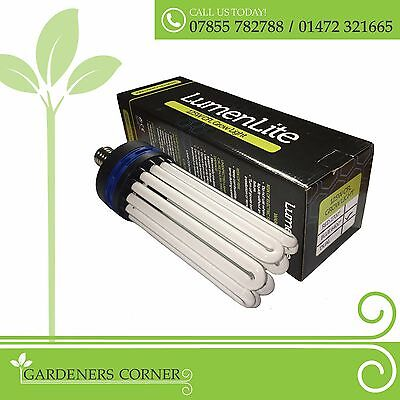 Hydroponic BLUE Spectrum CFL Compact Fuorescent Indoor Grow Tent Room Light Bulb