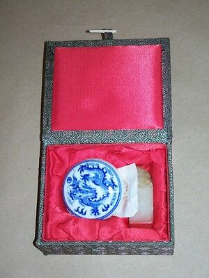 Foo Dog Chinese Wax Seal Kit. Has Original Papers and Price Tag.
